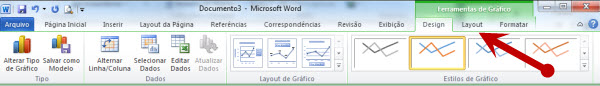 ferramentas de layout no Word 2010