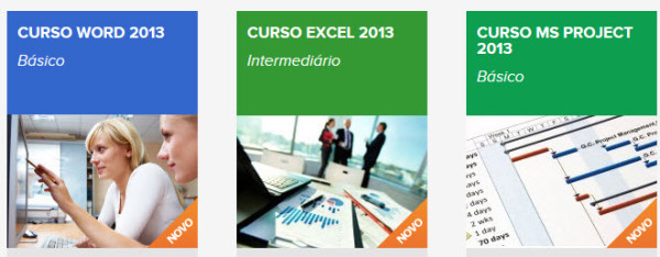 cursos de office excel e project