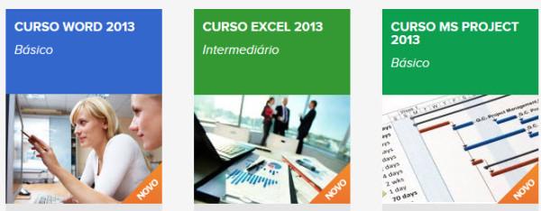 cursos de office excel e project
